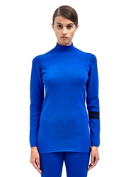 Y 3 Womens Roll Neck Knitted Top
