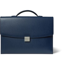 Montblanc Leather Briefcase Blue