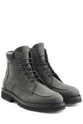 Pierre Hardy Suede Ankle Boots Black