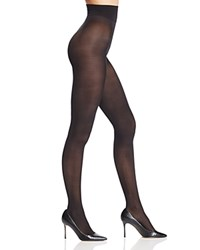 Dkny Comfort Luxe Belly Band Tights Black