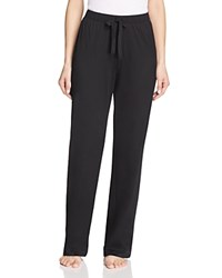 Hanro Cotton Deluxe Drawstring Lounge Pants Black