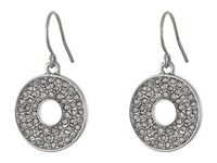 Karen Kane Iris Open Disc Earrings Silver Earring