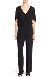 Leith Women's 'Cape' Surplice Jumpsuit