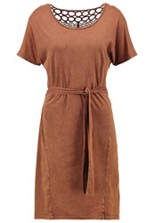 Object Objrock Jersey Dress Cocoa Brown Dark Brown