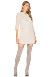 Flannel Australia Evie Shift Dress Beige