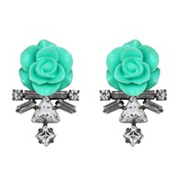 Darya London Astra Earrings Mint