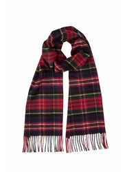 Johnstons Of Elgin Cashmere Scarf Red