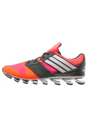 Adidas Performance Springblade Drive Cushioned Running Shoes Solar Red Tech Silver Metallic Core Black