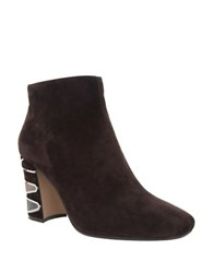 Nina Sayla Suede Ankle Boots Bittersweet