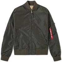 Alpha Industries Ma 1 Tt Jacket Grey