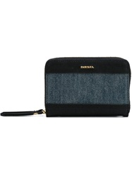 Diesel Small 'Granato' Wallet Blue