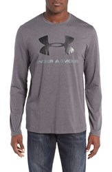 Under Armour Men's Logo T Shirt Carbon Heather