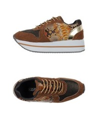 Colors Of California Low Tops And Trainers Brown