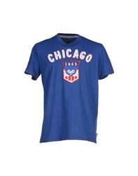 Major League Baseball Topwear T Shirts Men Blue