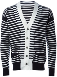 Sacai Striped Cardigan