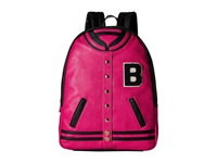 Betsey Johnson Kitch Varsity Backpack Fuchsia Backpack Bags Pink