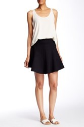Painted Threads Fit And Flare Skirt Black