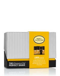 The Art Of Shaving 4 Elements Of The Perfect Shave Mid Size Kit Lemon