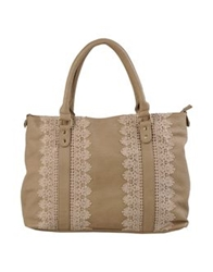 Darling Large Fabric Bags Beige