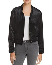 Joe's Jeans Lexi Crop Velvet Jacket Black