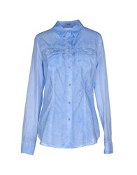 Siviglia Denim Shirts Shirts Women Sky Blue
