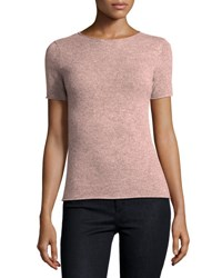 Theory Tolleree Short Sleeve Cashmere Sweater Dusty Willow