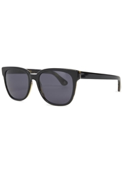 Orlebar Brown Zarth Black Wayfarer Style Sunglasses