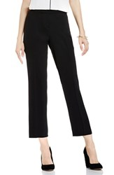 Vince Camuto Women's Crop Flare Pants Rich Black