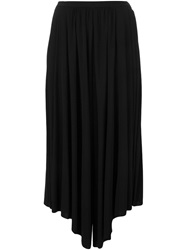 Cnc Costume National Costume National Wide Leg Cropped Trousers Black
