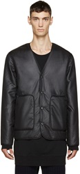 Alexander Wang Black Reversible Cardigan Jacket