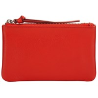 John Lewis Harriet Leather Coin Purse Red