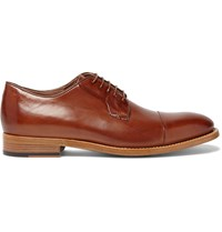 Paul Smith Ernest Leather Derby Shoes Brown