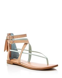 Dolce Vita Darrah Ankle Strap Thong Sandals Compare At 70 Tan Mint