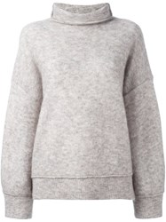 By Malene Birger 'Sorocco' Turtleneck Jumper Grey