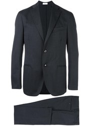 Boglioli Notched Lapel Suit Grey