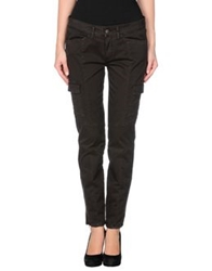 Good Mood Casual Pants Dark Brown