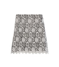 Dorothee Schumacher With Conviction Lace Skirt Grey