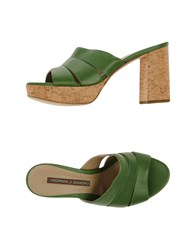 Norma J.Baker Footwear Sandals Women Emerald Green