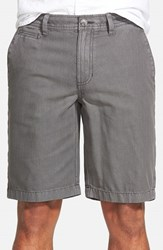 Men's 1901 'Bainbridge' Print Chino Shorts Grey Shade