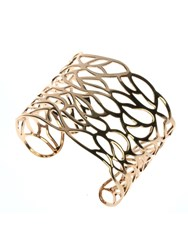 Indulgence Jewellery Rose Gold Colour Cuff Bangle
