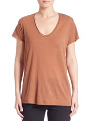 Helmut Lang Cotton And Cashmere Short Sleeve Tee Autumn