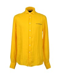 Scapa Sports Shirts Long Sleeve Shirts Men Yellow
