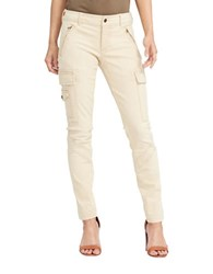 Lauren Ralph Lauren Multiple Pocket Stretchable Moto Jeans Siyu Fort Wash
