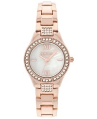 Styleandco. Style And Co. Women's Rose Gold Tone Bracelet Watch 28Mm Sc1428 Rosegold
