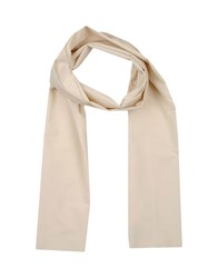 U Ni Ty Accessories Oblong Scarves Men Ivory
