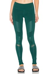 Alo Yoga Moto Legging Green