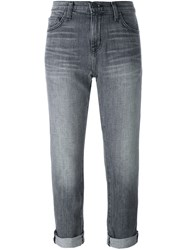 Current Elliott 'The Fling' Relaxed Jeans Grey
