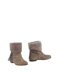 Julie Dee Ankle Boots Grey