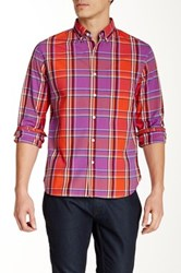 Bonobos Seadown Plaid Long Sleeve Standard Fit Shirt Multi