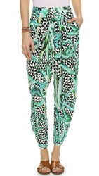 Mara Hoffman Draped Pants Aloe Green